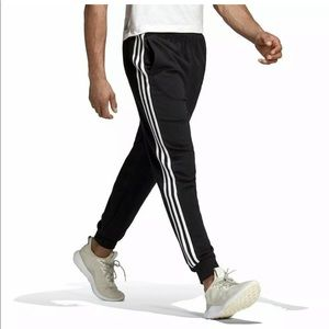 New! Mens Adidas Essentials 3-Stripes Pants